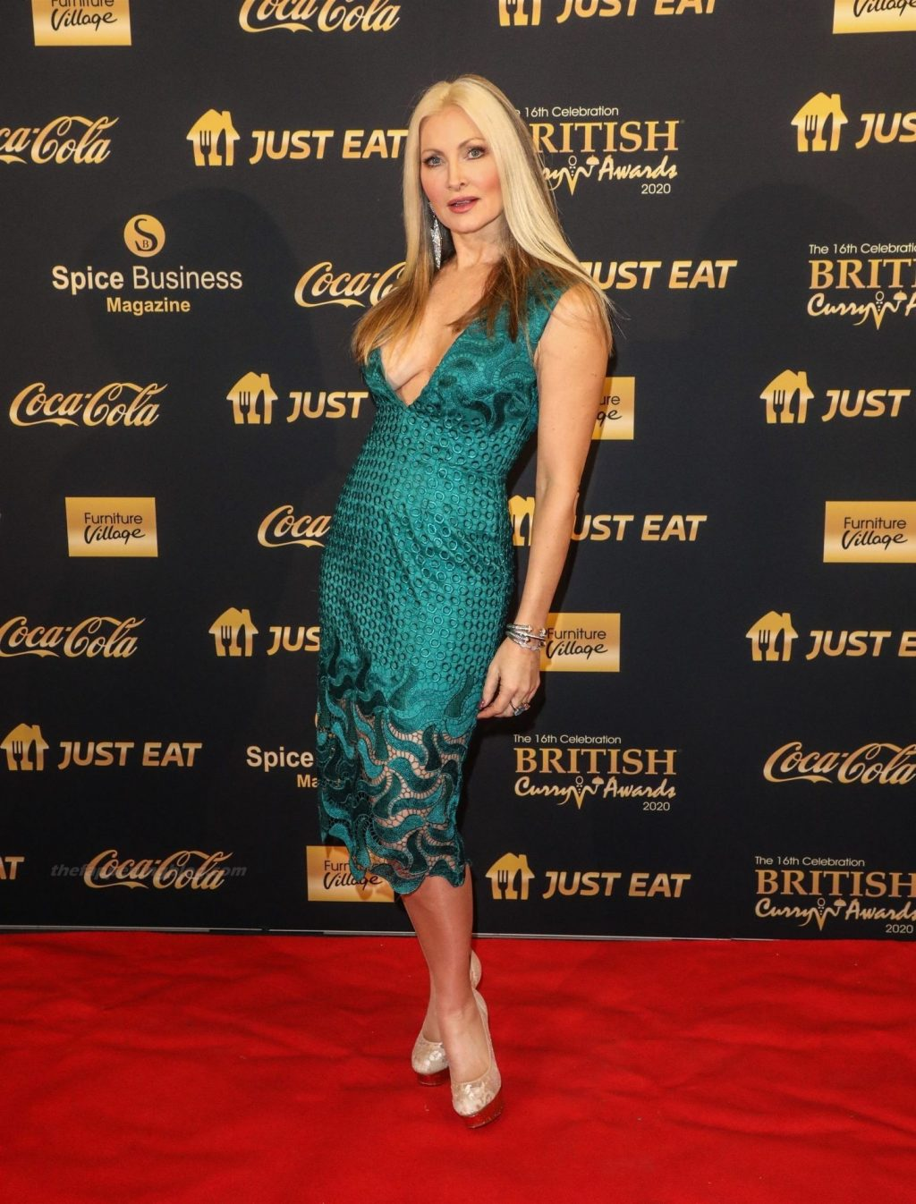Caprice Bourret Displays Her Tits at The British Curry Awards (19 Photos)