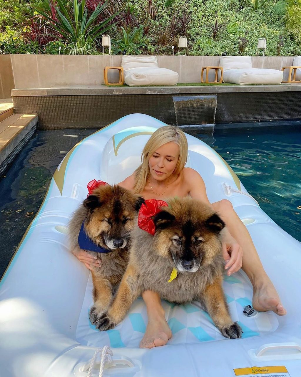 Chelsea Handler Poses Topless (8 Photos)