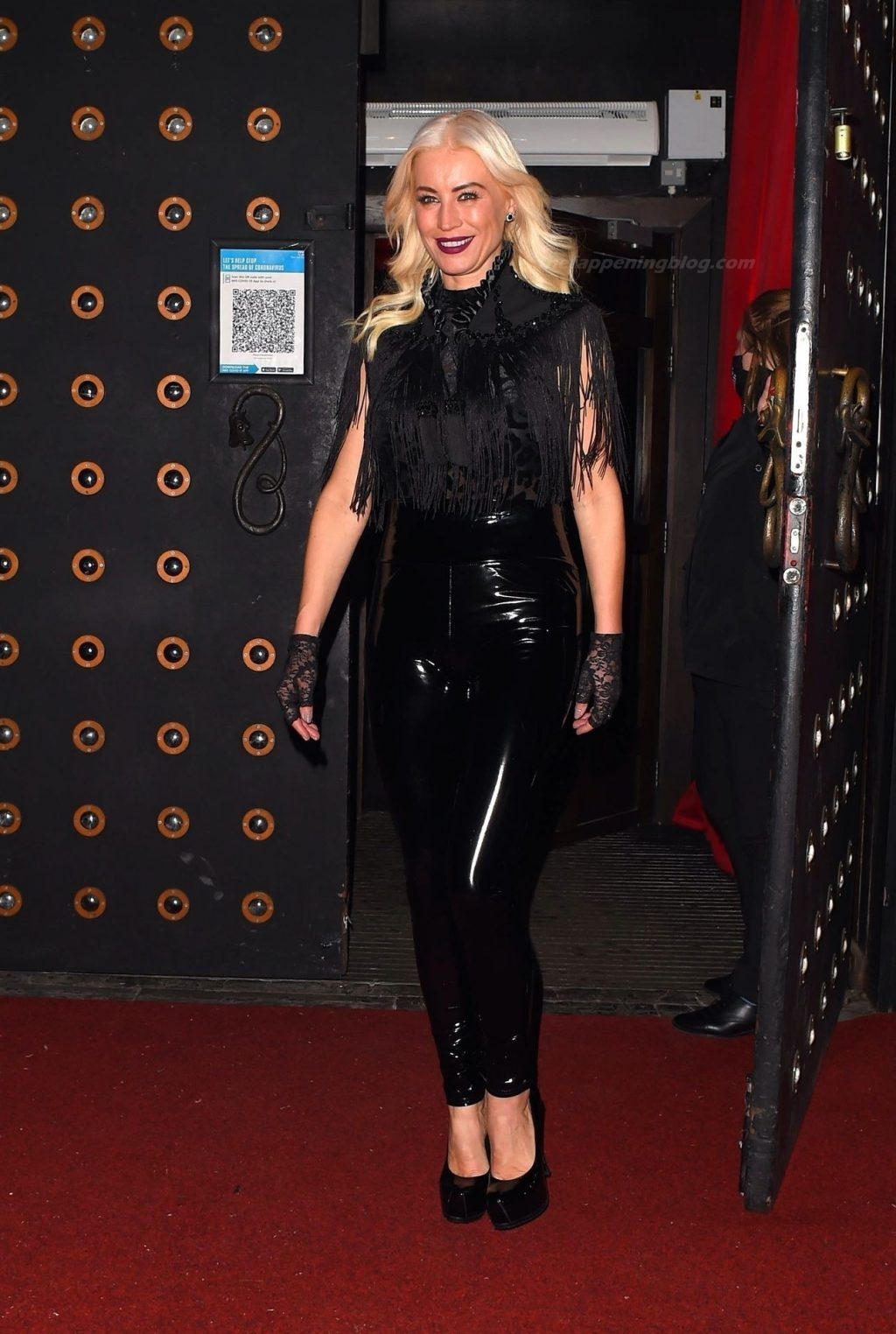 Denise Van Outen is Seen Leaving Proud For the Last Time (53 Photos)