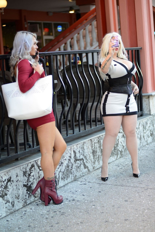 Dominica VonTrapp & Adara Jordin are Seen Out in Miami (21 Photos)
