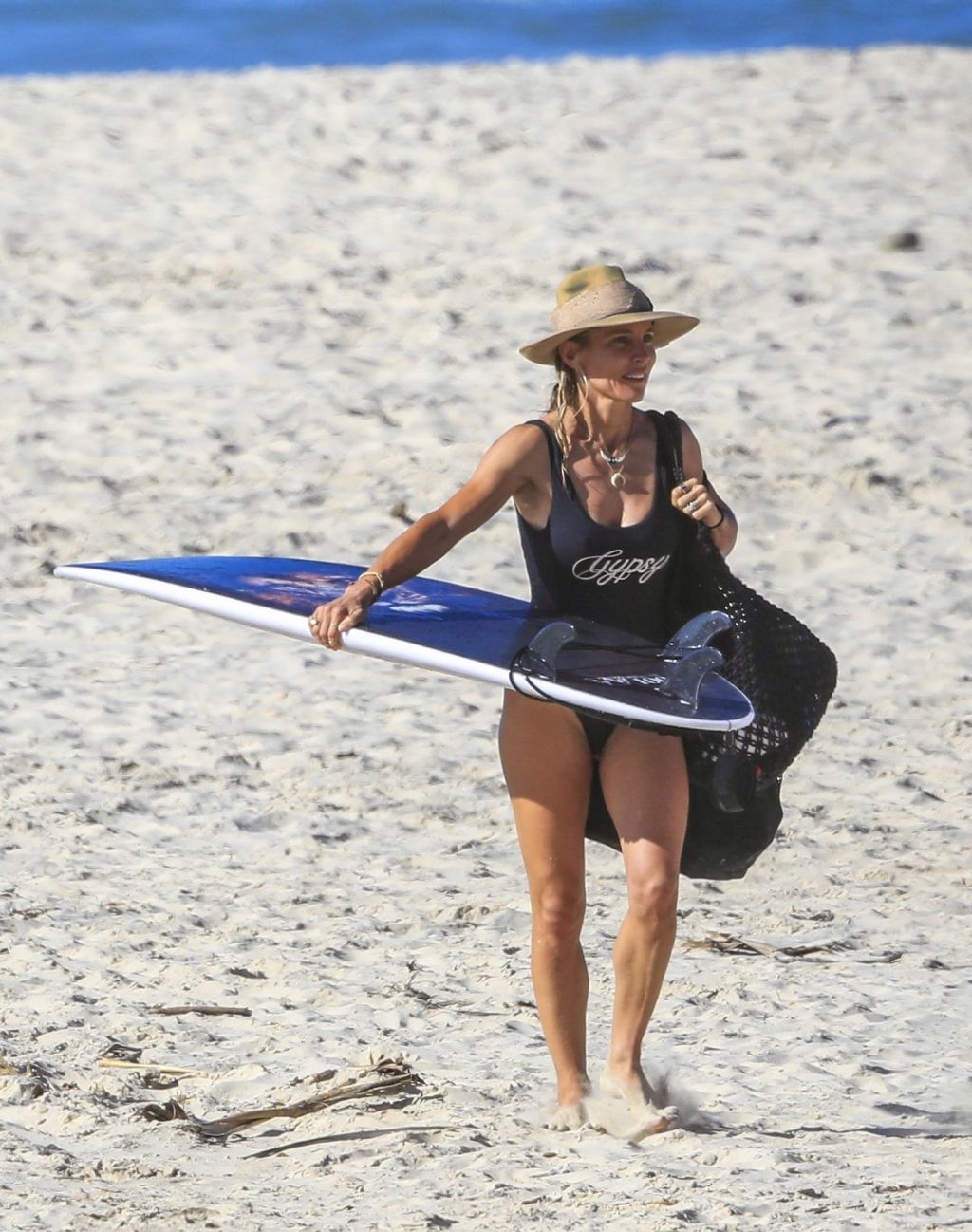 Elsa Pataky Looks Sensational at Byron Bay's Wategos Beach (13 Photos)