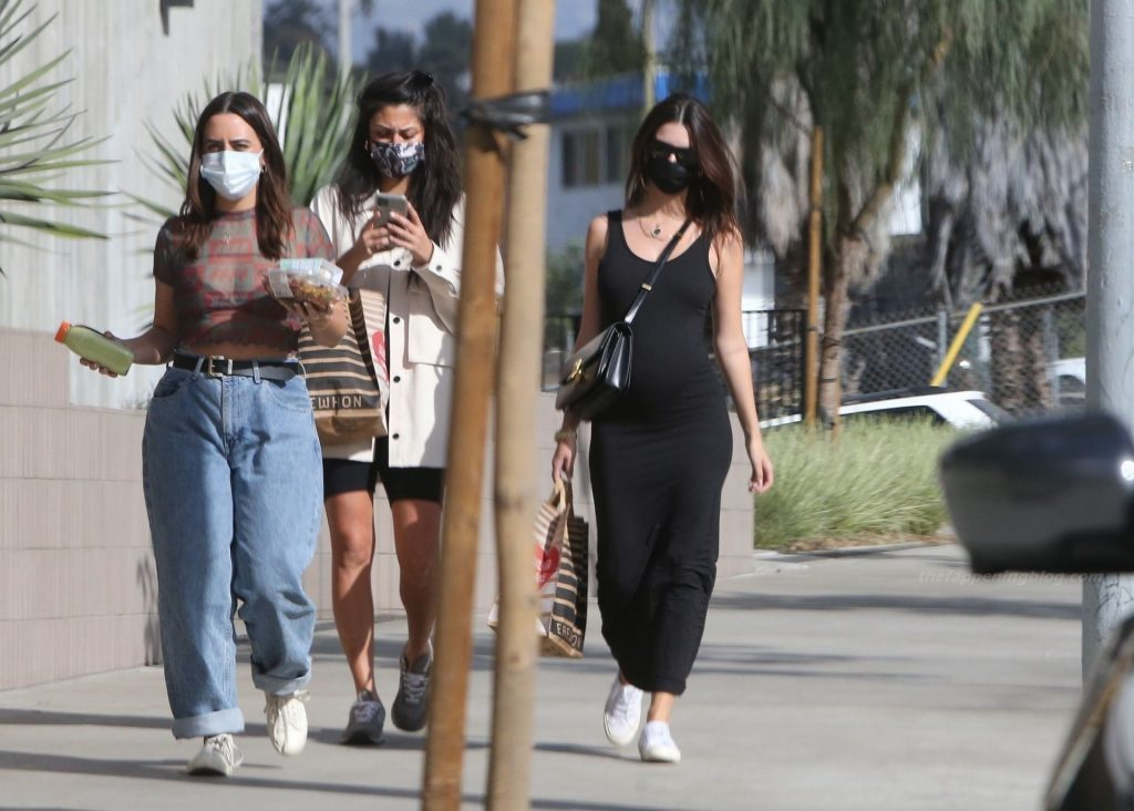 Emily Ratajkowski Spends Some Time with Friends in LA (25 Photos)