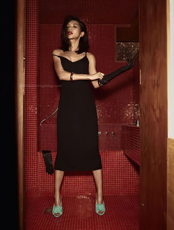 Gemma Chan Sexy – Vogue UK (4 Photos)