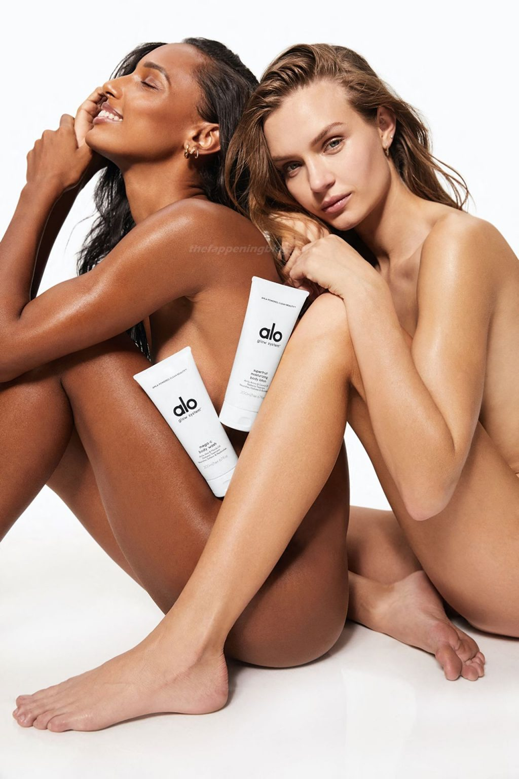 Josephine Skriver & Jasmine Tookes Pose Naked for a New Campaign (8 Photos)