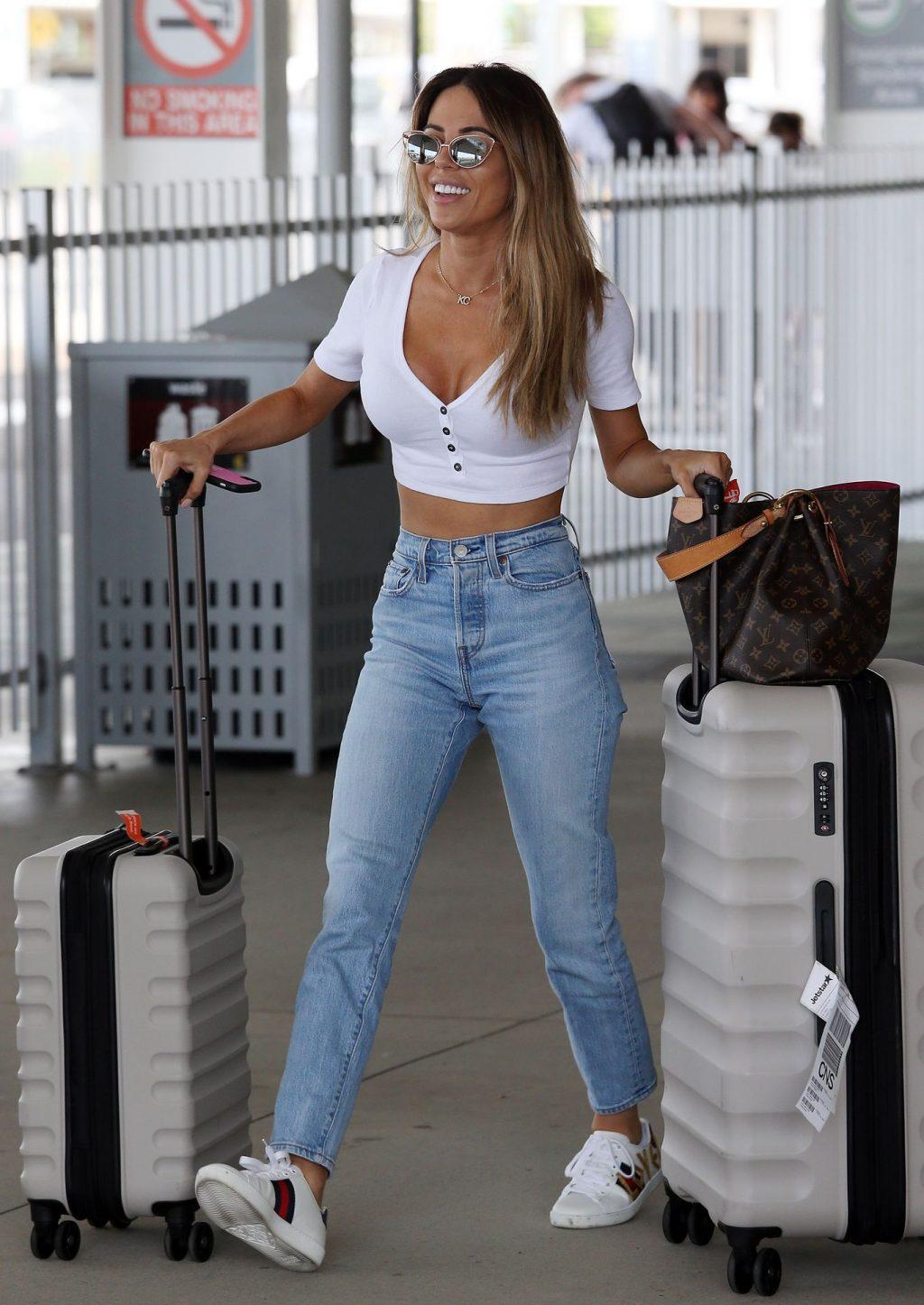 MAFS KC Osborne Arrives in Cairns on Holiday (33 Photos)