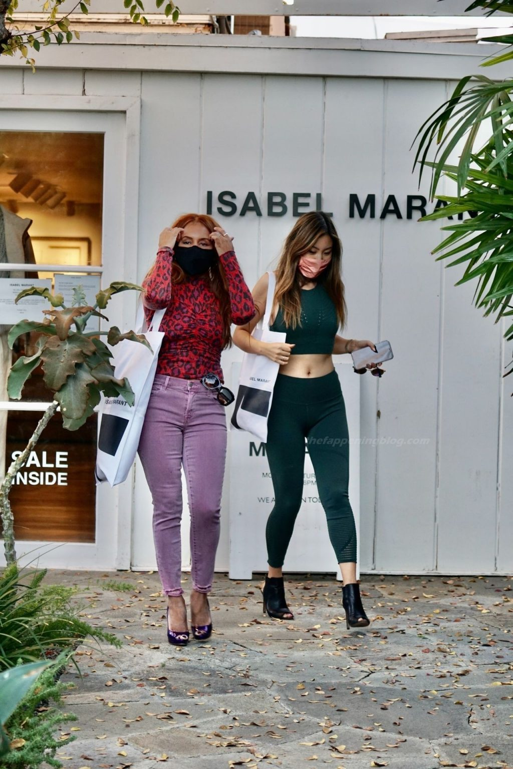 Kai Morris Goes Shopping at Isabel Marant with a Friend (123 Photos)