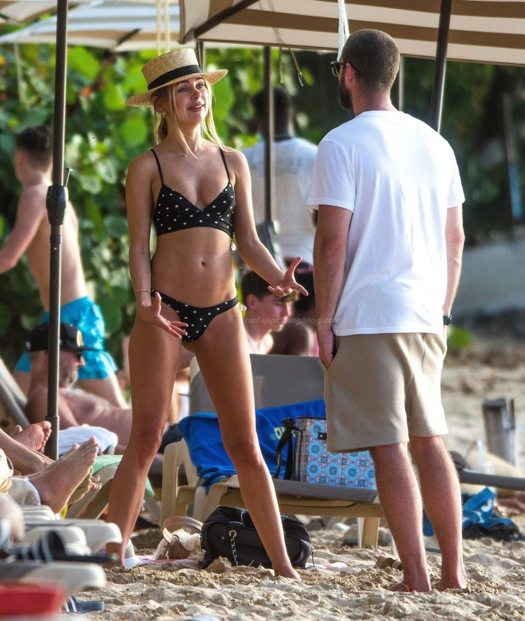 Kimberley Garner is Spotted on the Beach in Barbados (87 Photos)
