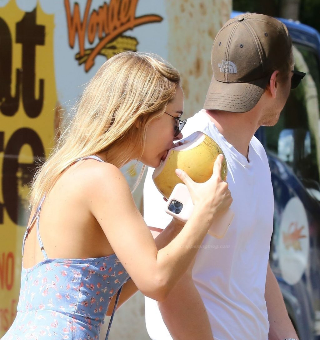 Leggy Kimberley Garner is Pictured Out in Holetown (21 Photos)