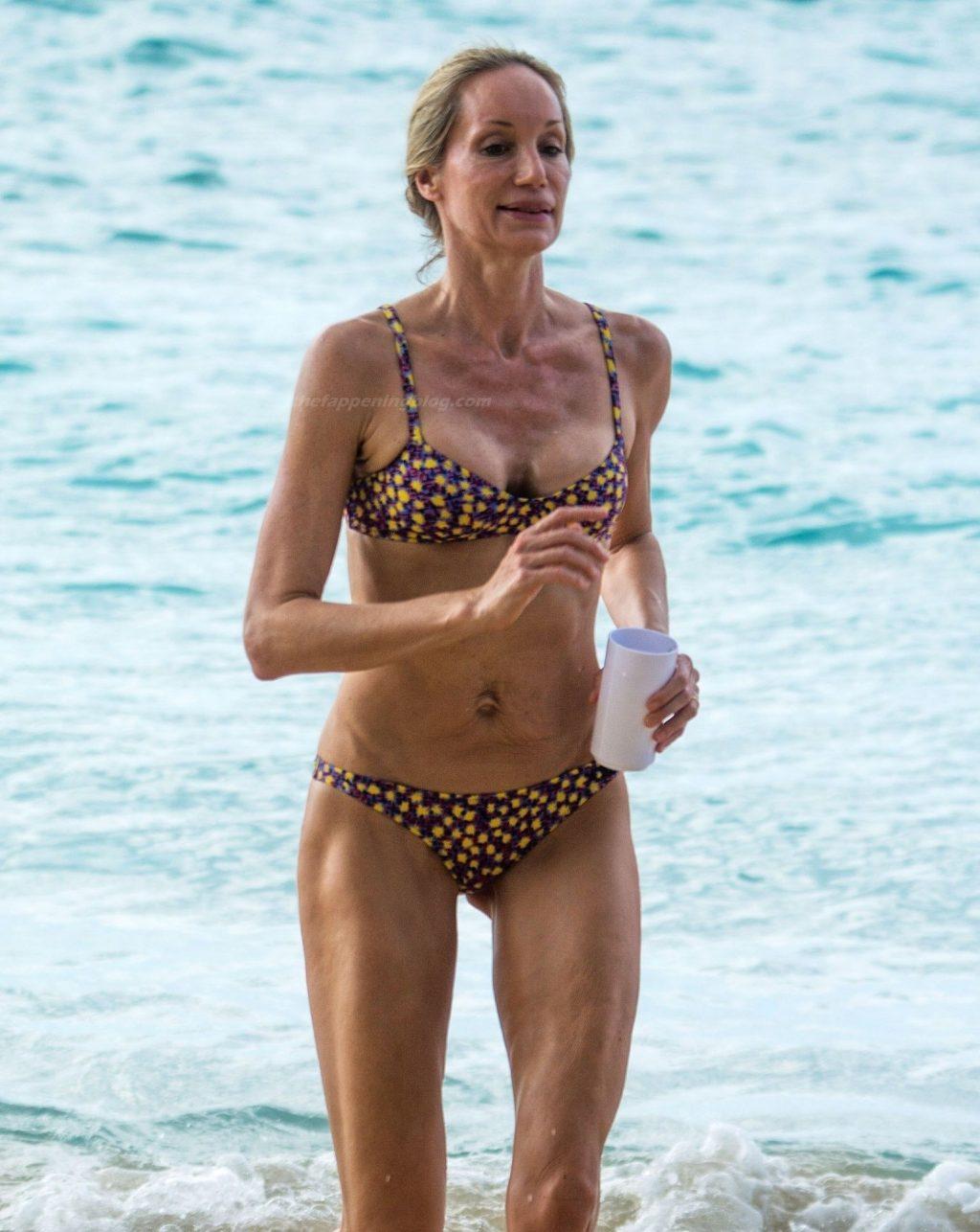 Skinny Kristen Pazik is Spotted on Sandy Lane Hotel's Beach (20 Photos)