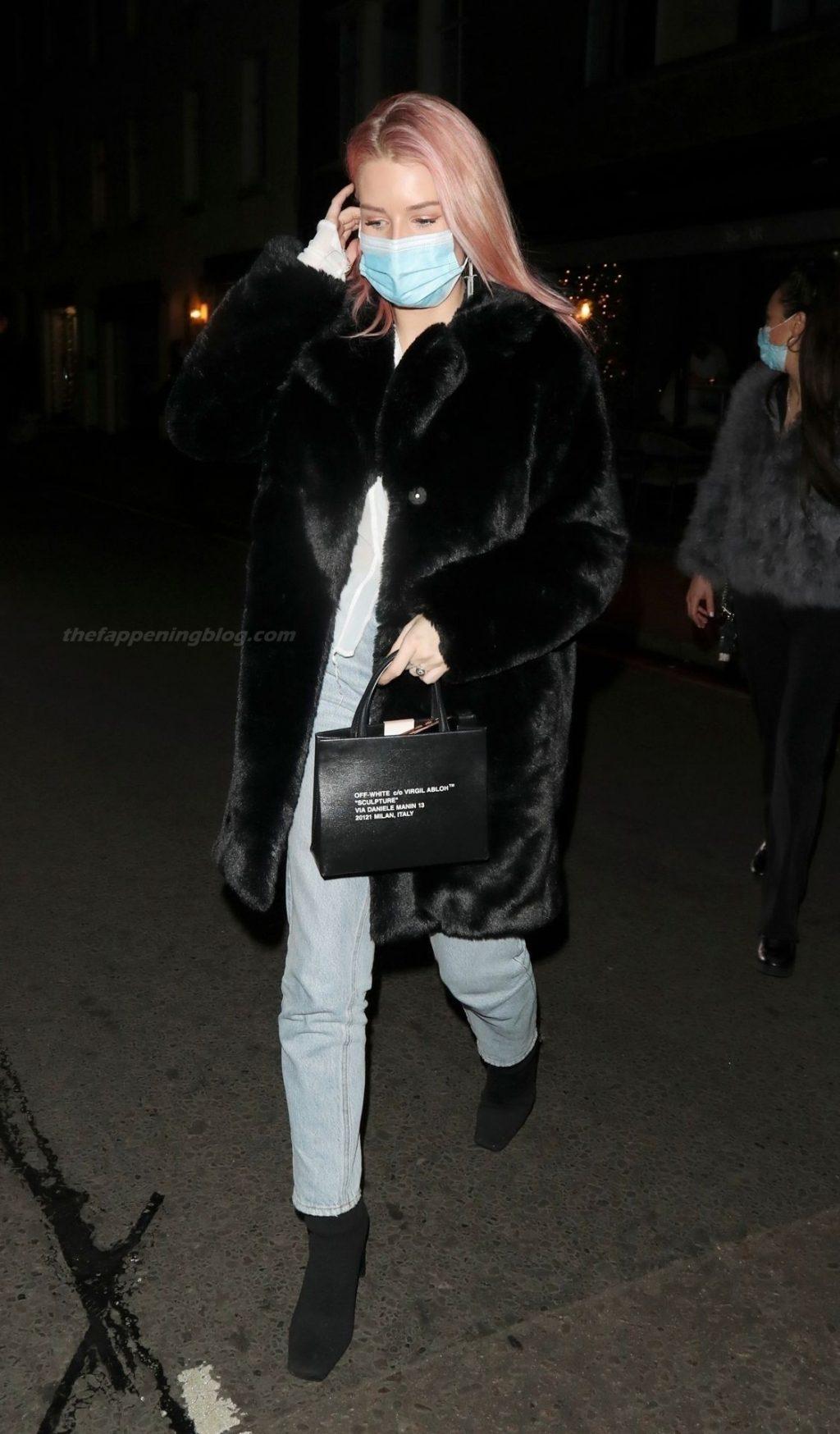 Lottie Moss is Seen Braless at Xier Restaurant in London (33 Photos)