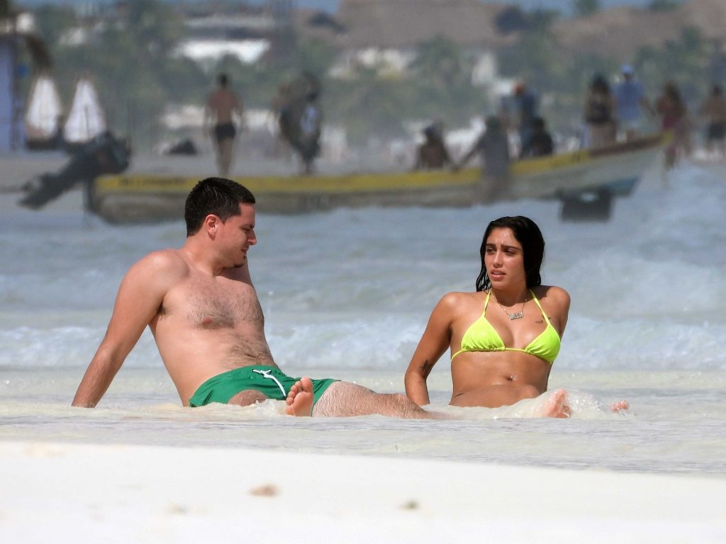 Lourdes Leon and Her Boyfriend Relax on a Paradise Vacation Together (75 Photos)