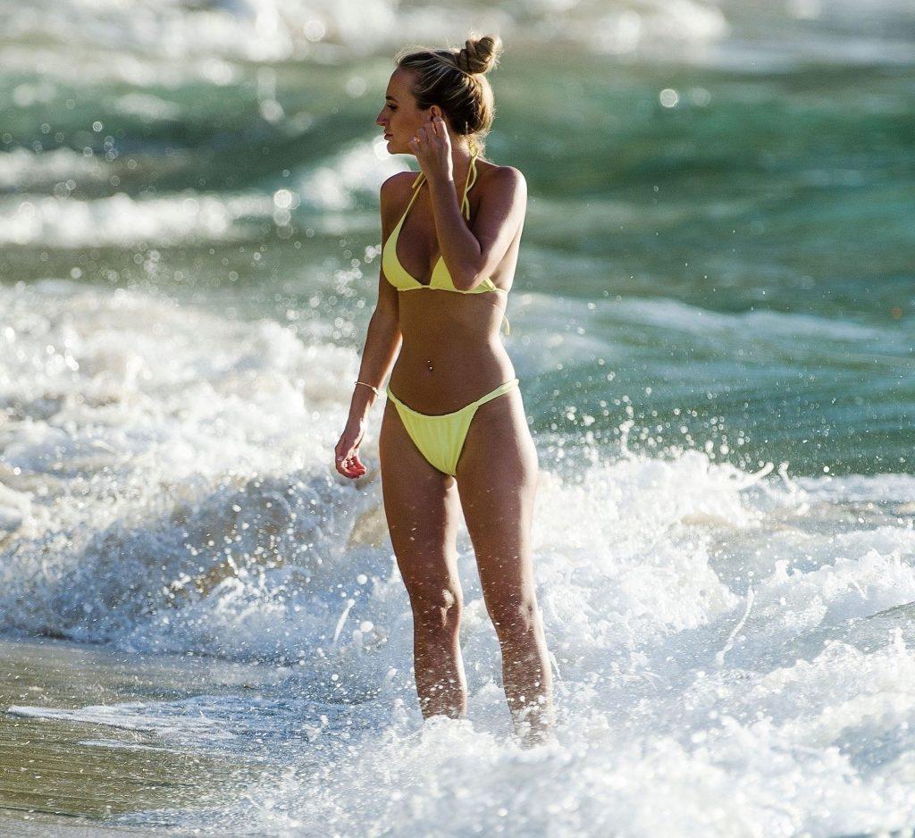 Lucy & Tiffany Watson Strip Off Down to Their Sexy Bikinis on the Beach (144 Photos)