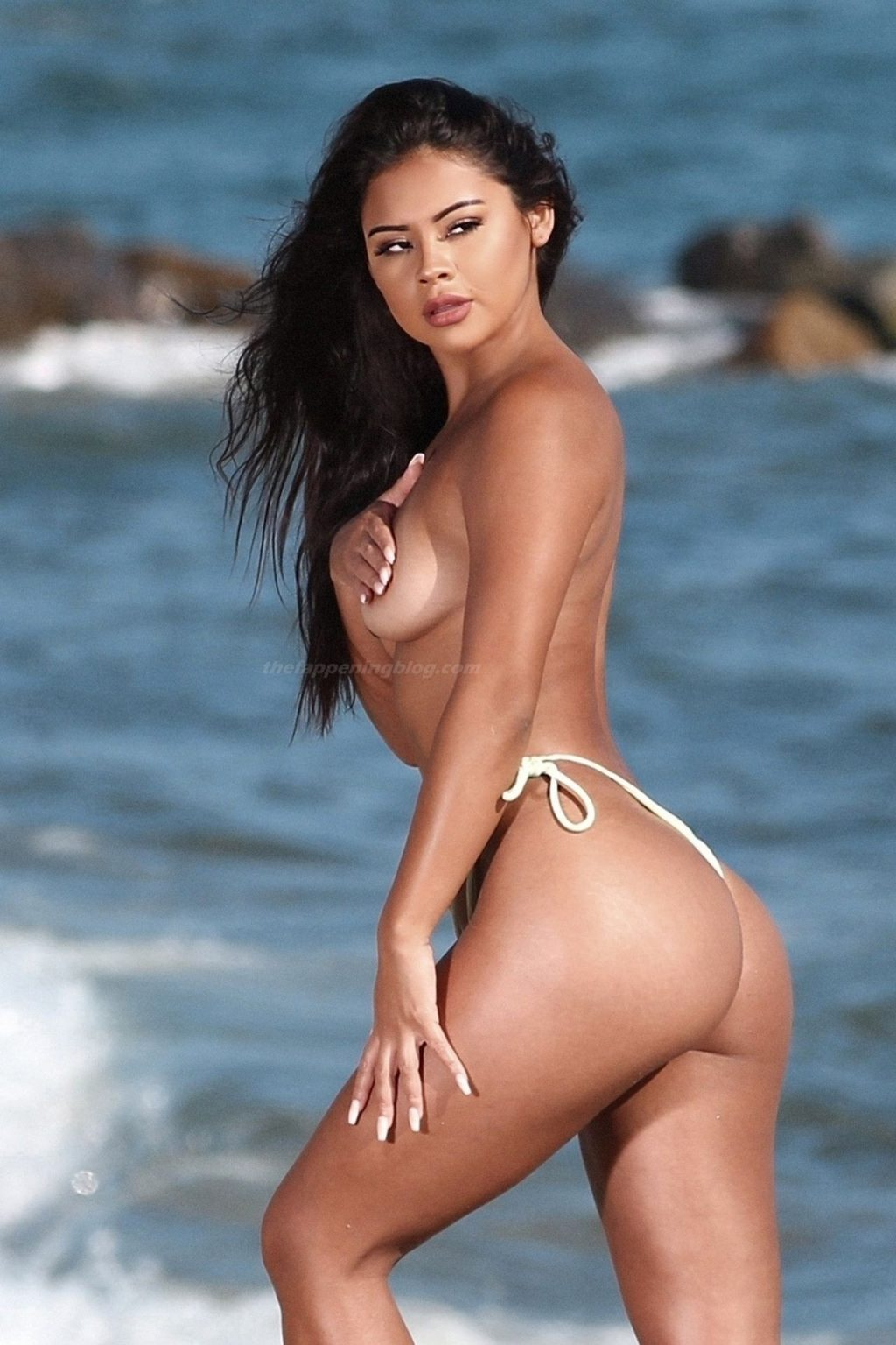 Maria Gomez Ends the Year with a Sexy Nude Photoshoot for 138 Water in Malibu (126 Photos)