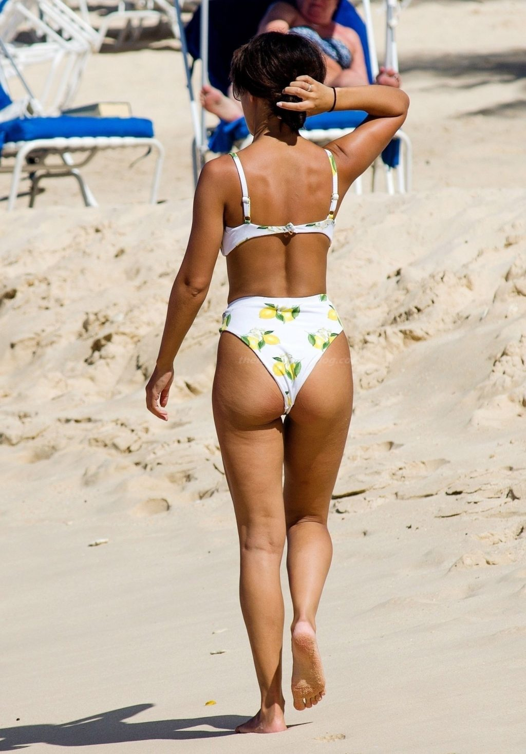 Montana Brown Shows Off Her Sexy Butt on the Beach in Barbados (84 Photos)