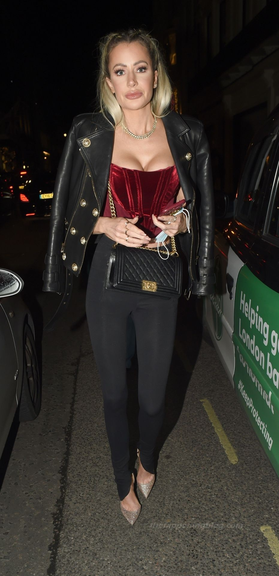 Olivia Attwood Shows Off Her Cleavage in London (19 Photos)