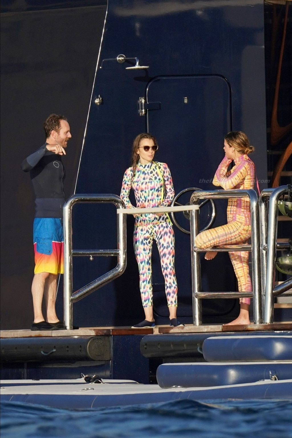 Sofia Richie & Lily Collins Spend Christmas Holidays Together in St. Barths (84 Photos)
