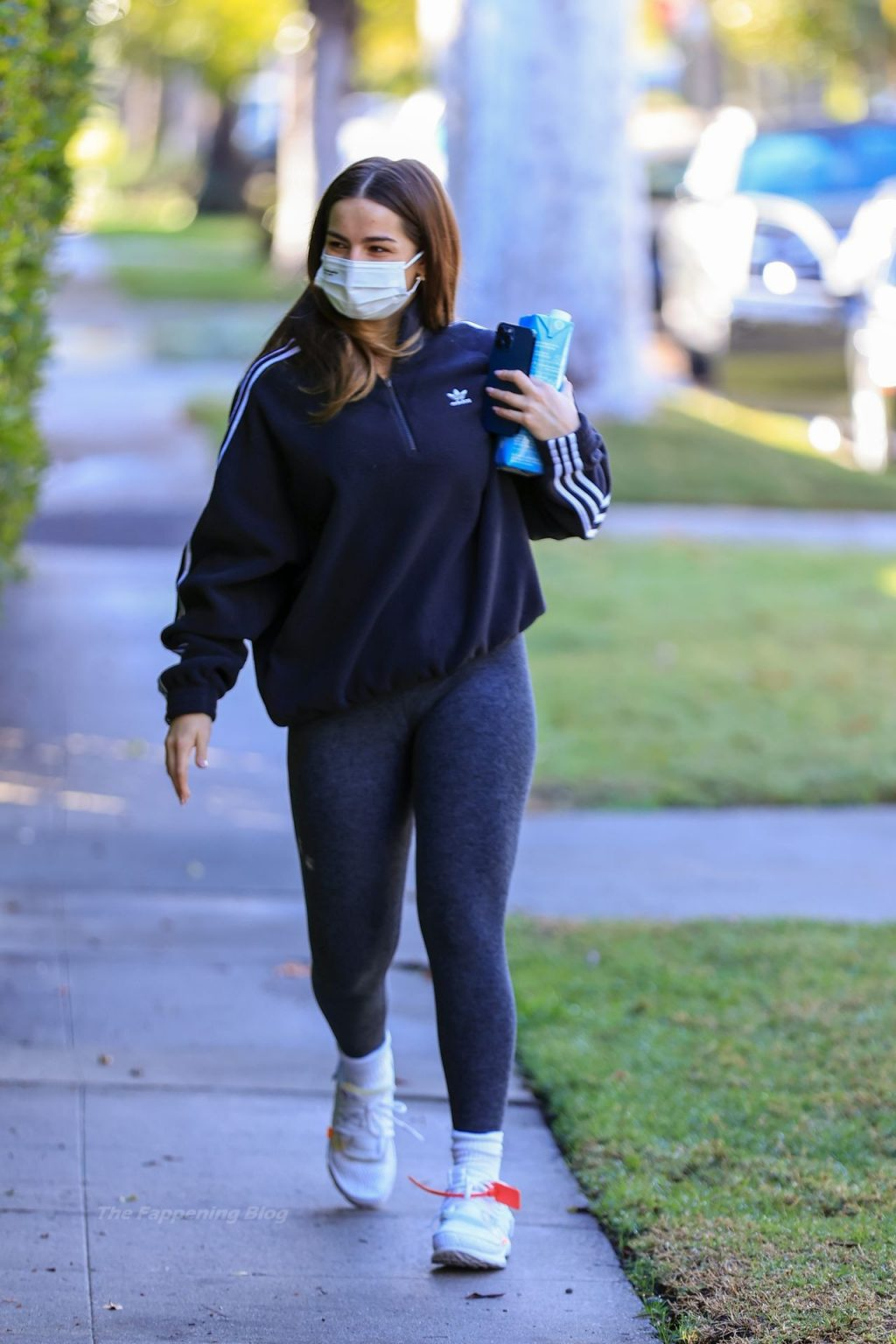 Addison Rae Arrives for Another Private Workout Session in LA (17 Photos)