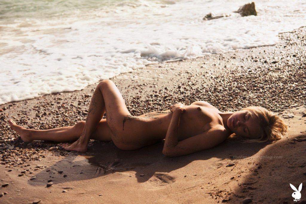 Alberte Valentine Christensen Nude – Sand Secrets (34 Photos)
