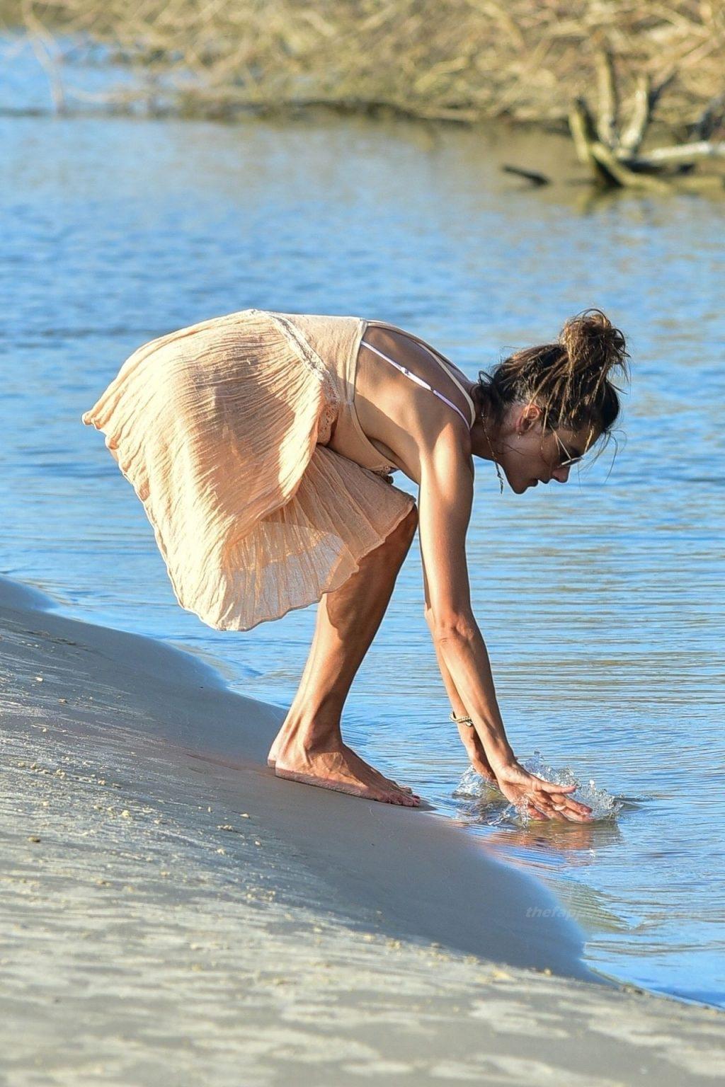 Alessandra Ambrosio Poses For Her Swimwear Brand (72 Photos)