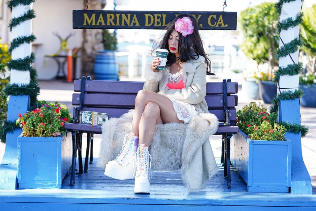 Bai Ling Poses in LA (13 Photos)