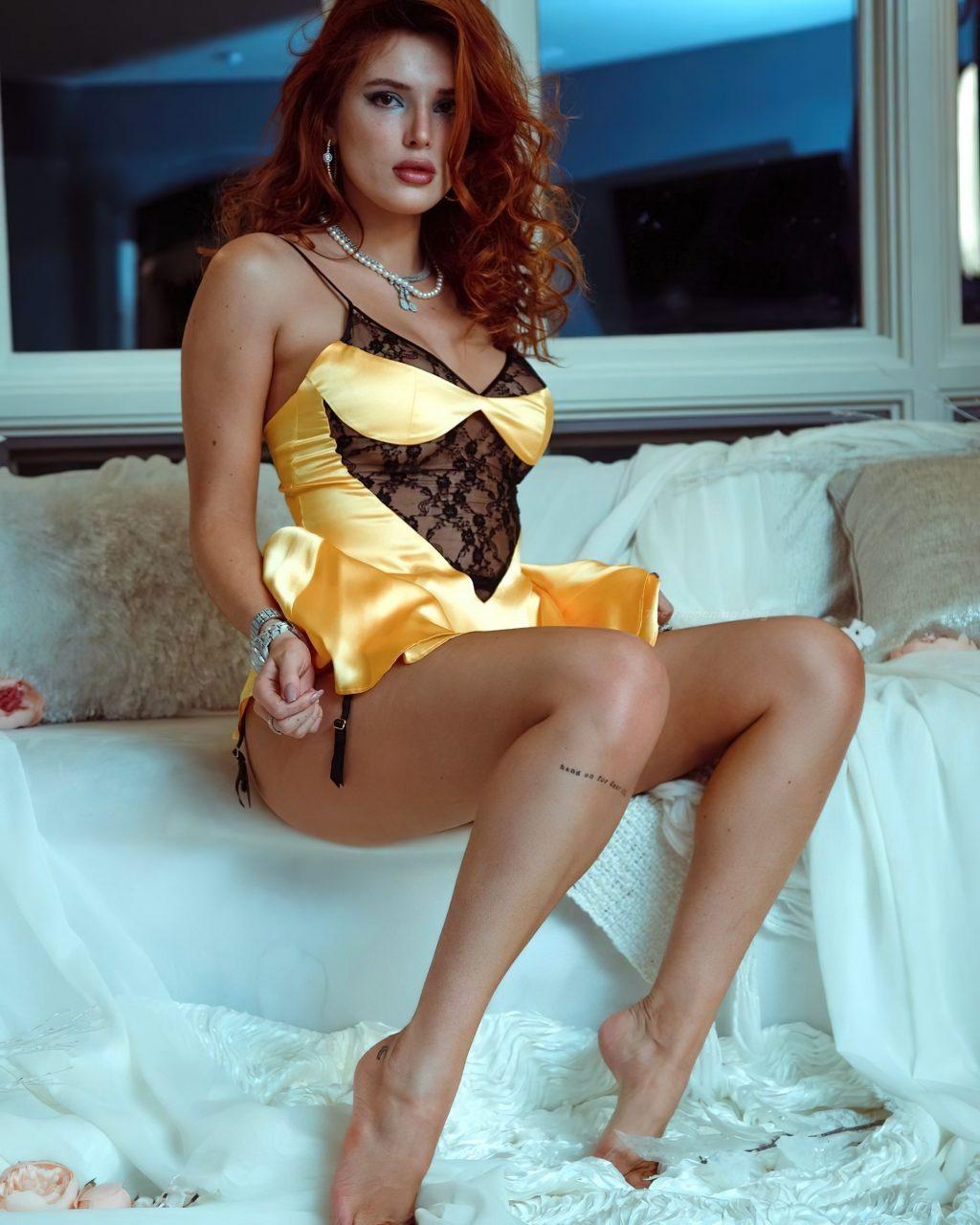 Bella Thorne See Through & Sexy (7 Photos)