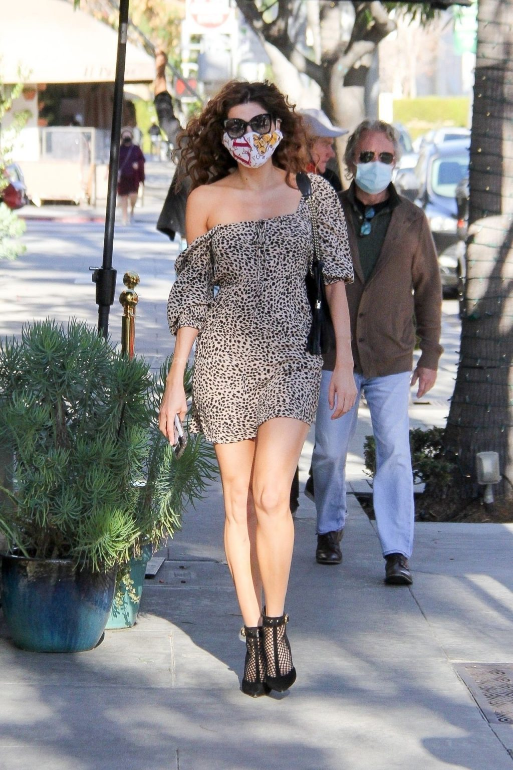 Blanca Blanco Puts on a Leggy Display While Out in Beverly Hills (23 Photos)