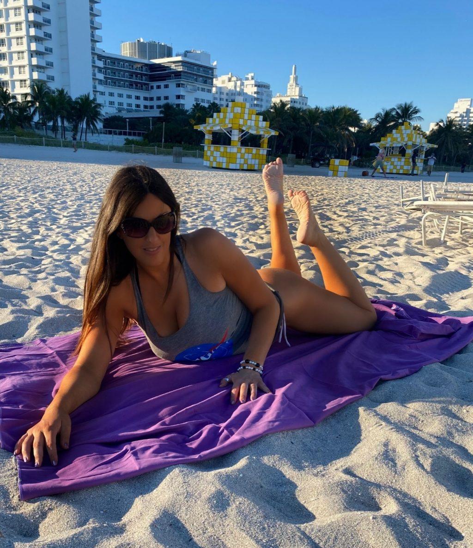 Claudia Romani Poses for Basic Vegan at Miami Beach (16 Photos)