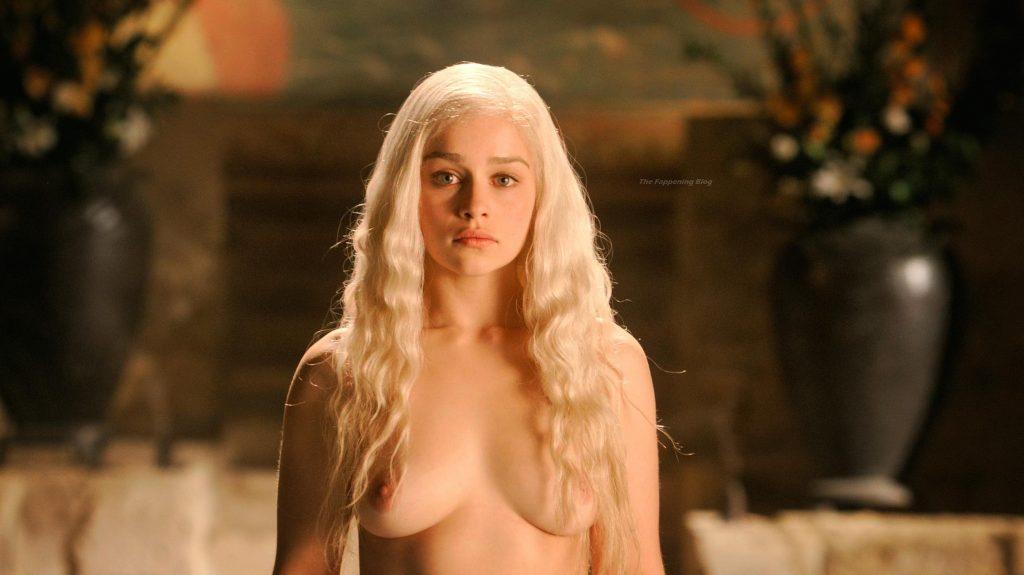 Emilia Clarke Nude - Game of Thrones