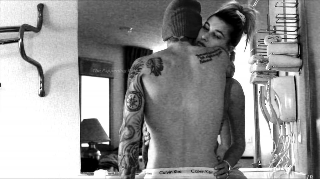 Justin Bieber Steams Up the Screen with His Wife Hailey (40 Pics + Video)