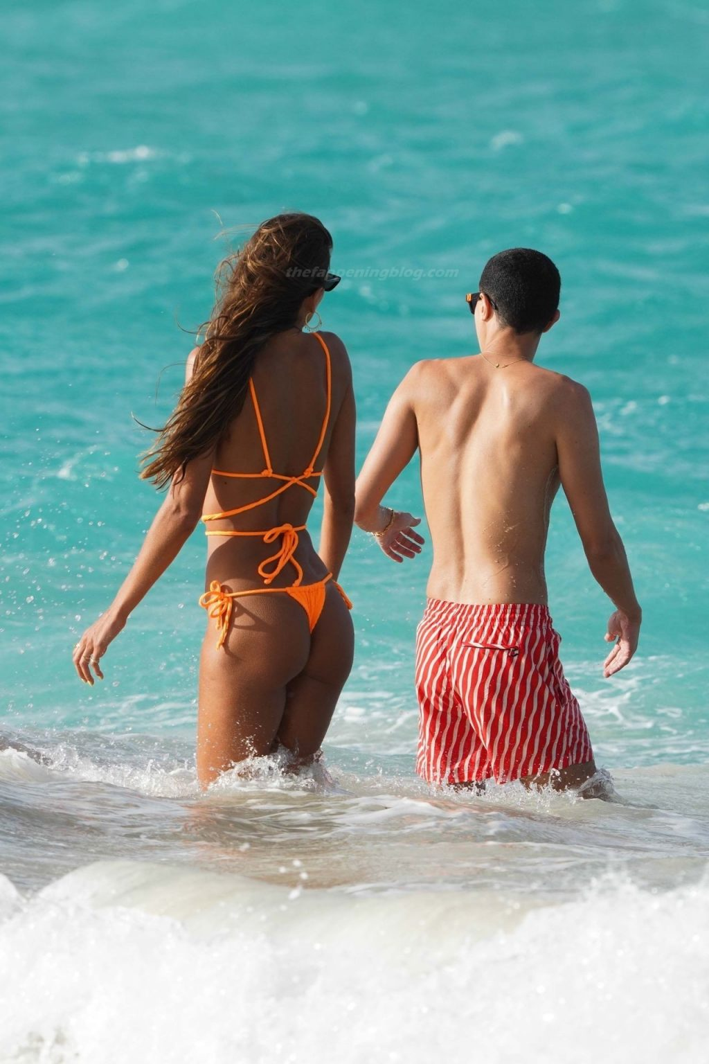 Izabel Goulart Enjoys Her Afternoon with Friends at Eden Rock Hotel in St. Barths (78 Photos)