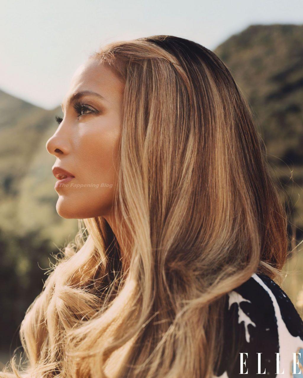 Jennifer Lopez Sexy – Elle Magazine (12 Photos)
