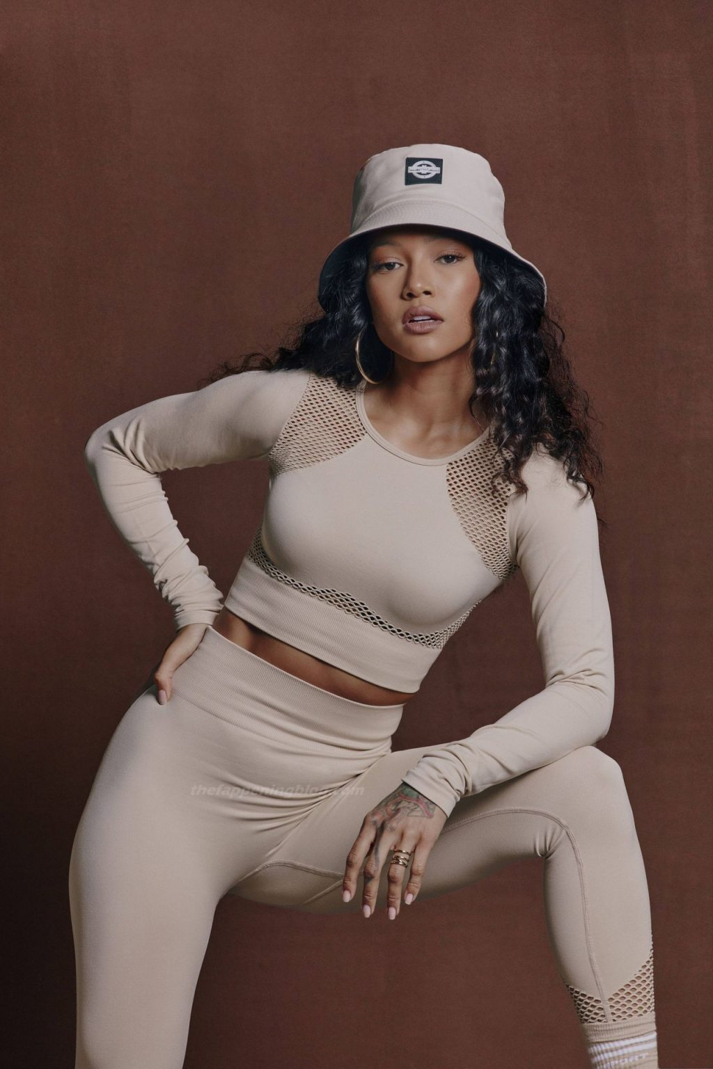 Karrueche Tran Shows Off Toned Body for PrettyLittleThing (16 Photos)