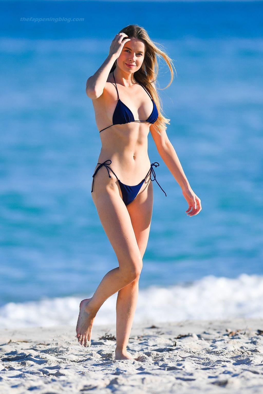 Louisa Warwick Flaunts Her Sexy Bikini Body on the Beach in Miami (46 Photos)