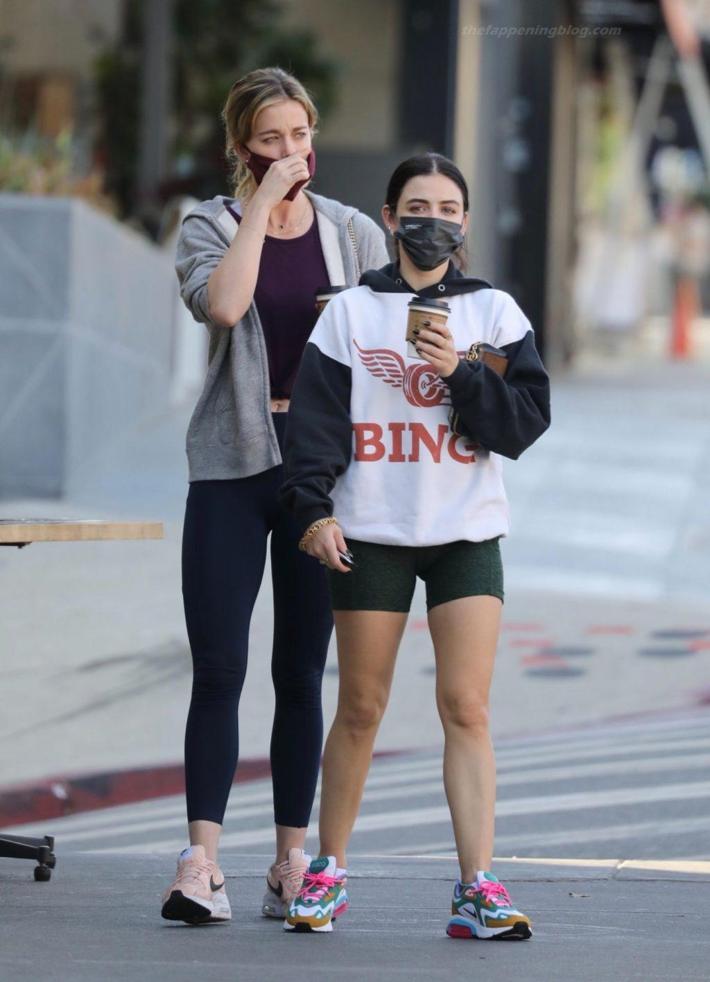 Leggy Lucy Hale is Seen in LA (13 Photos)
