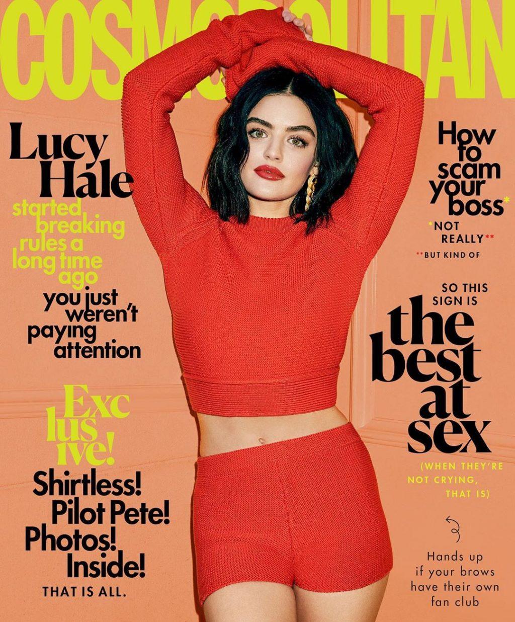 Lucy Hale Sexy – Cosmopolitan (11 Photos)