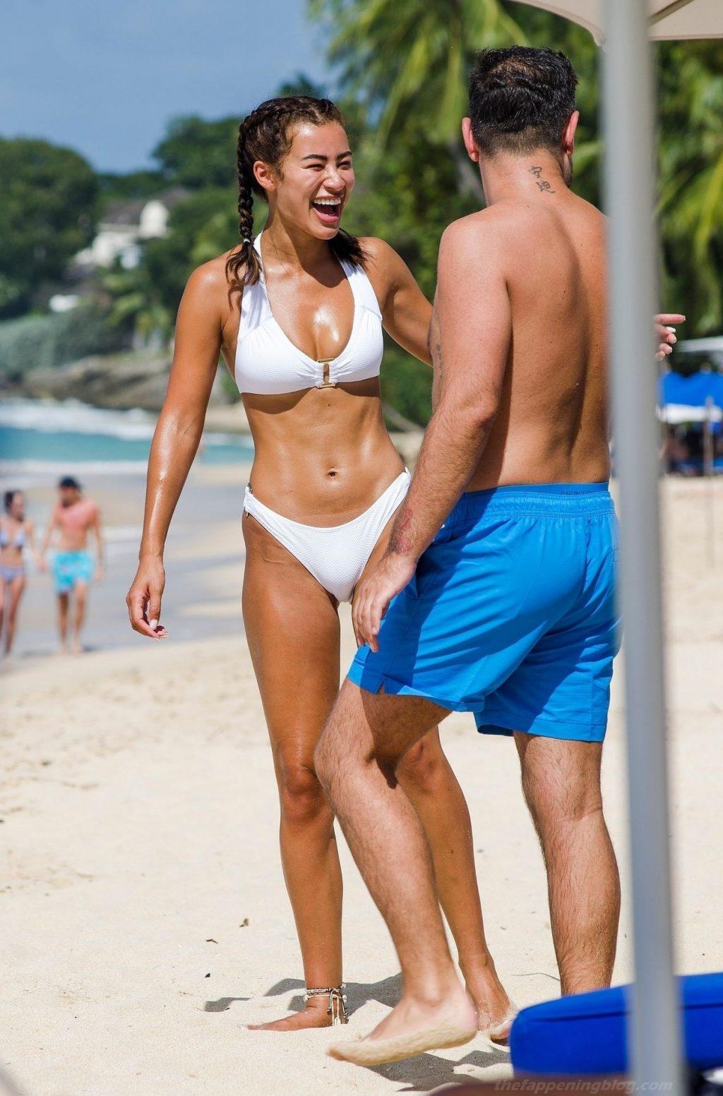 Montana Brown Dons Her Sexy Bikini on the Golden Sandy Beaches of Barbados (68 Photos)