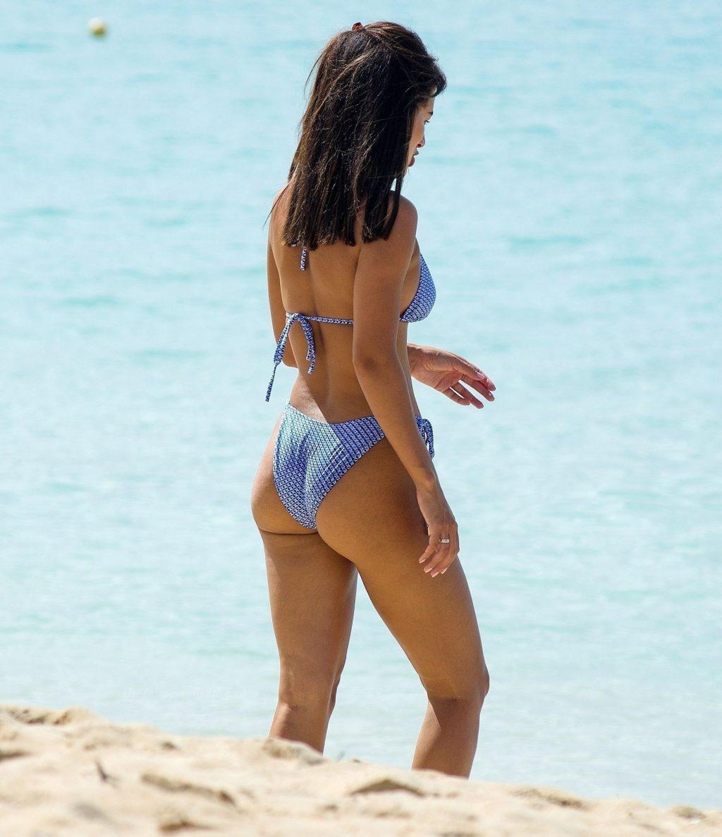 Montana Brown Looks Sensational in a Blue Bikini (58 Photos)