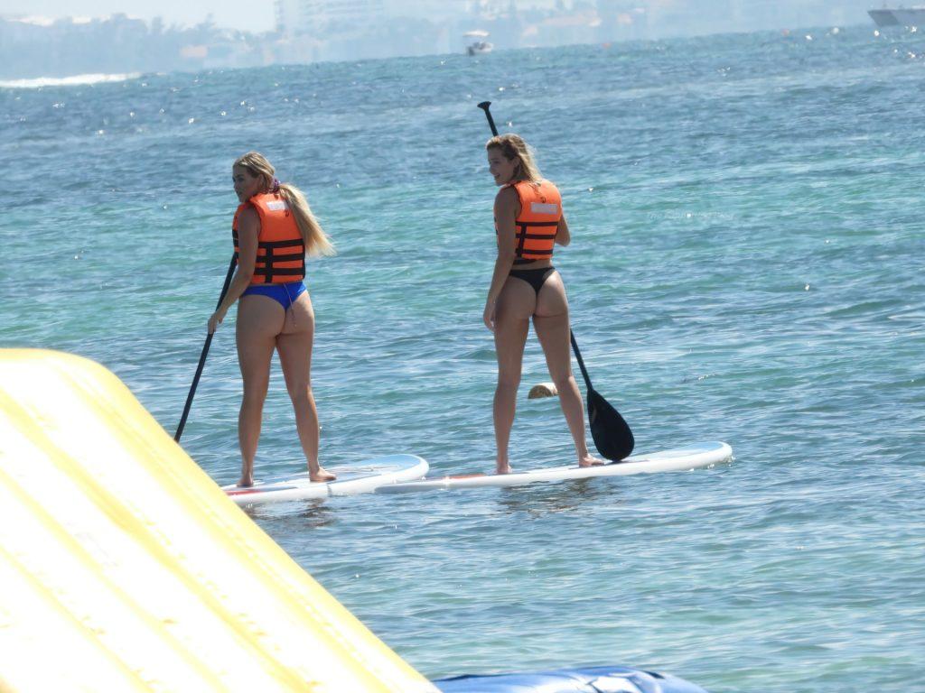 Olivia Ponton & Suede Brooks Hit the Beach in Mexico (44 Photos)