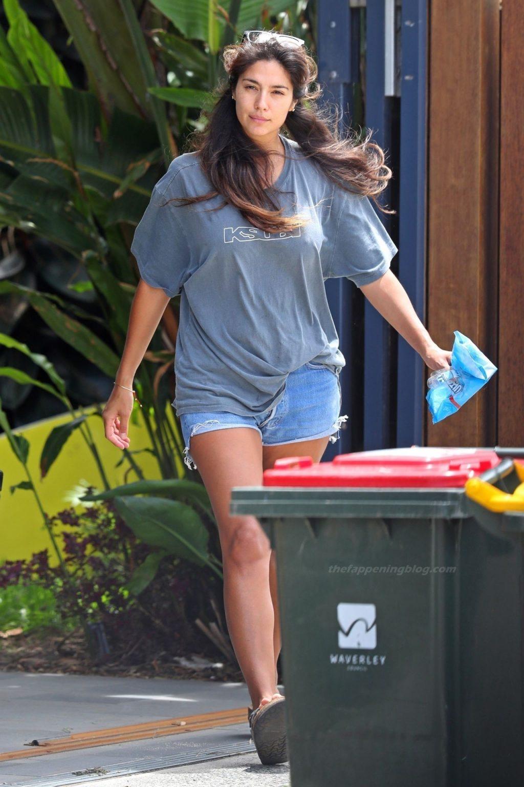 Leggy Pia Miller is Seen Braless in Sydney (26 Photos)