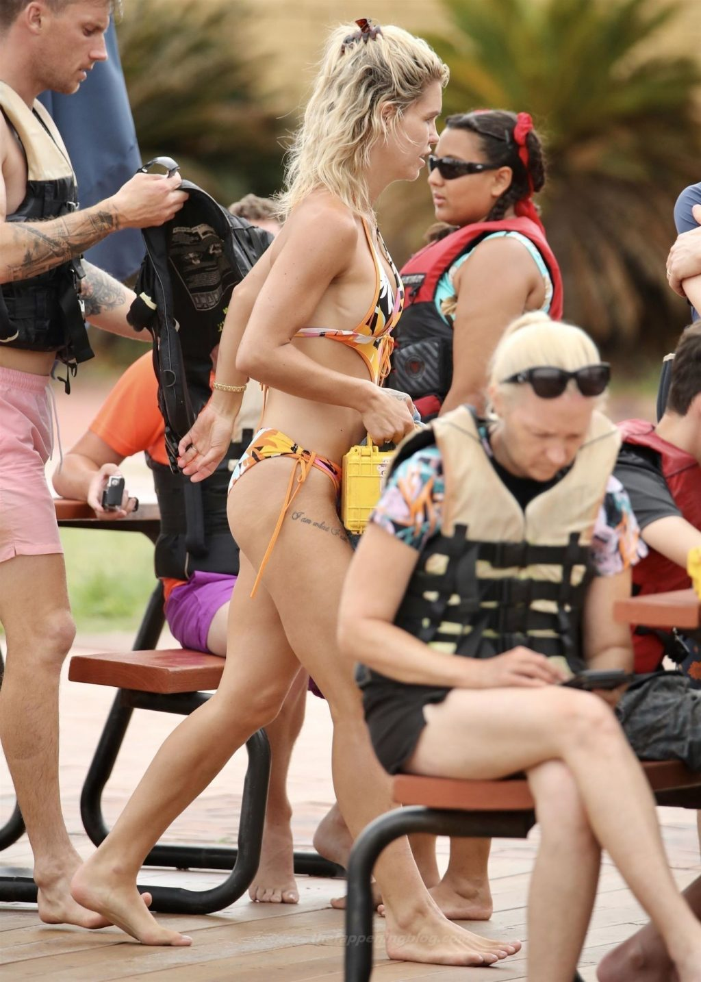 Simone Ormesher Shows Off Her Stunning Body in a Bikini (8 Photos)