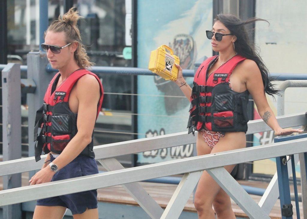 Tamara Joy Flaunts Her Sexy Bikini Body at Mariners Cove (22 Photos)