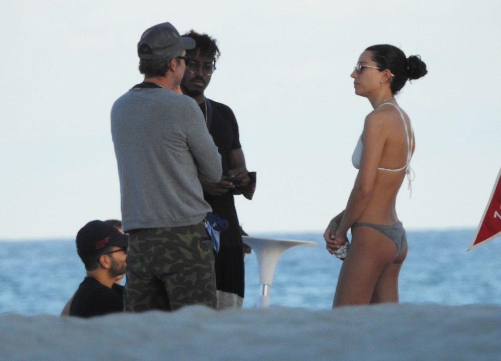 DJ Ruckus Chats Up Women on the Beach After Shanina Shaik Divorce (25 Photos)