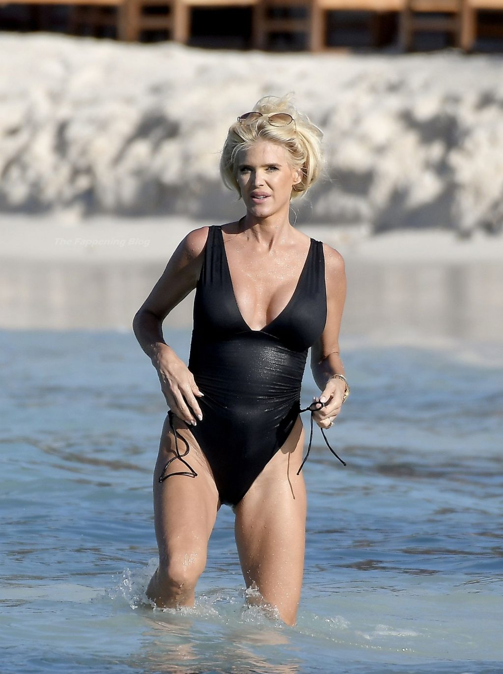 Victoria Silvstedt Shows Off Her Sexy Body While Enjoying The Caribbean Sun in St Barths (51 Photos)