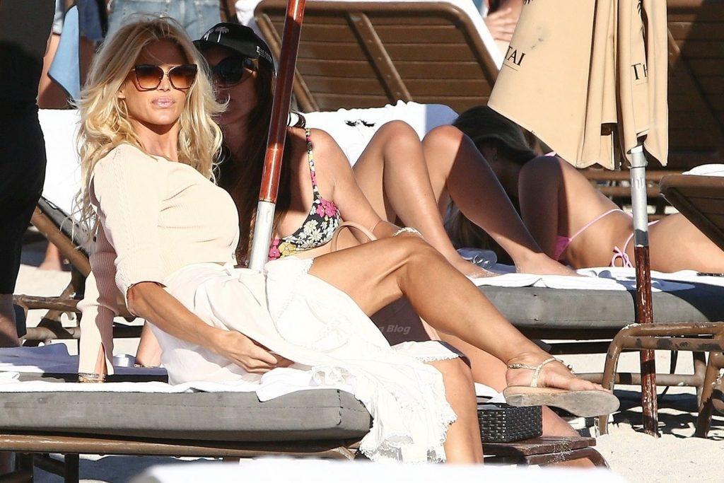 Leggy Victoria Silvstedt Hits Miami Beach (99 Photos)