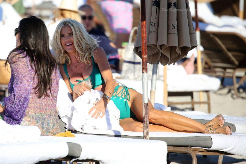 Victoria Silvstedt Celebrates a Friend's Birthday in Miami Beach (105 Photos)