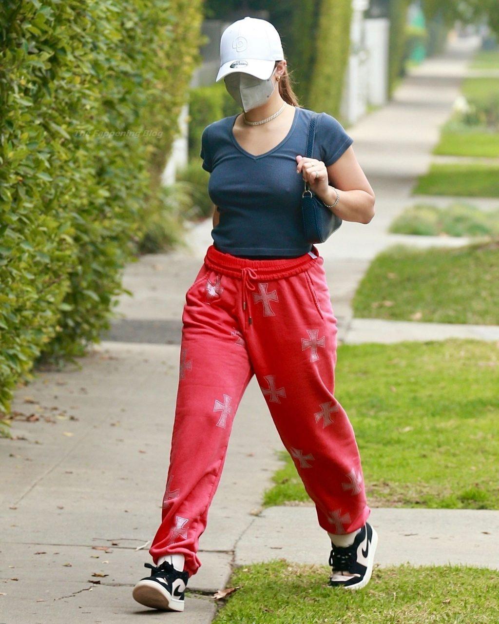 Addison Rae Shows Her Pokies in LA (12 Photos)