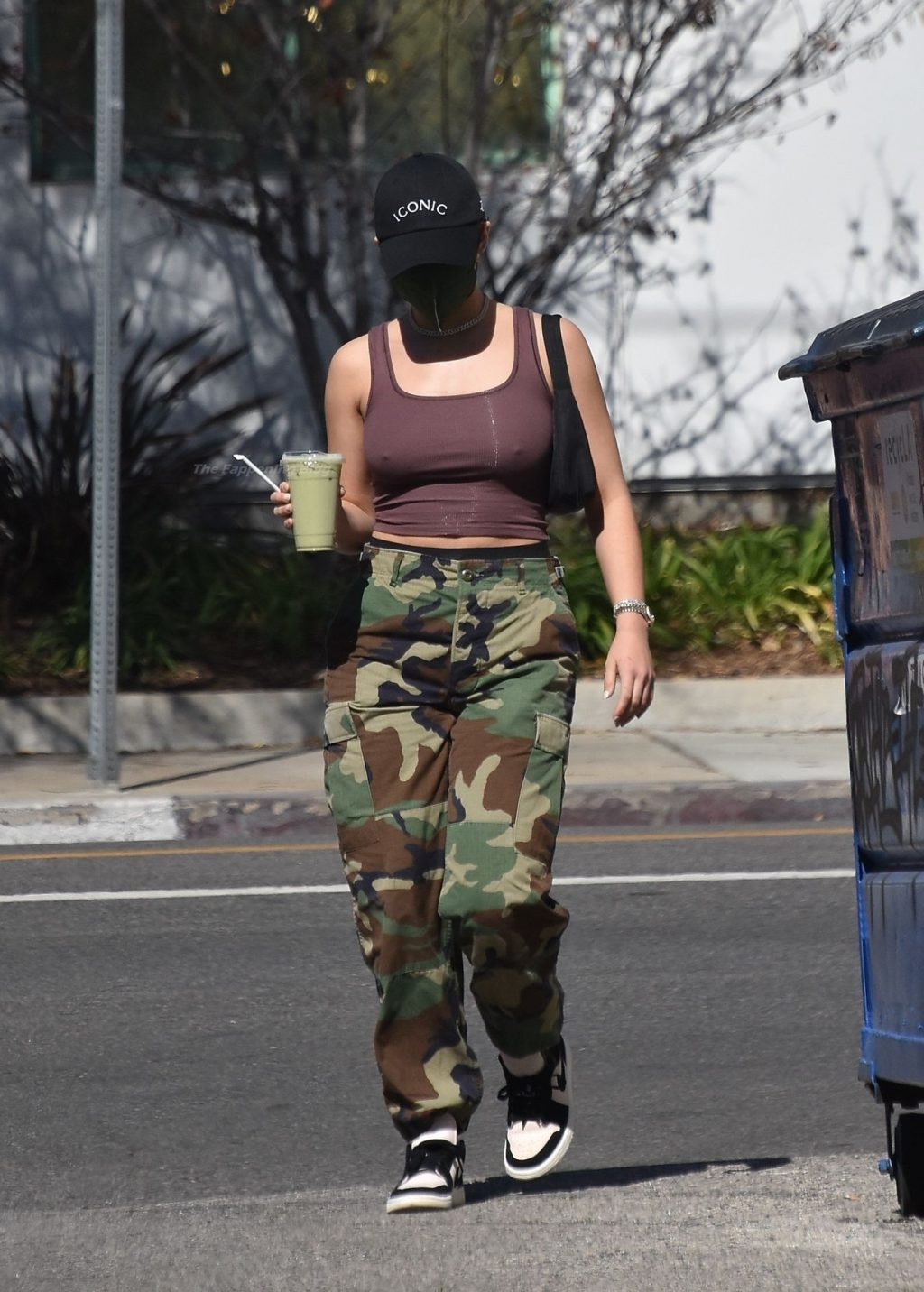 Braless Addison Rae Grabs a Juice on Her Way to a Studio (21 Photos)