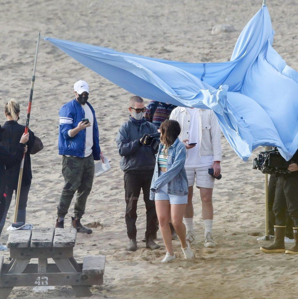 Addison Rae Has a Blast During a Malibu Beach Photoshoot (134 Photos)