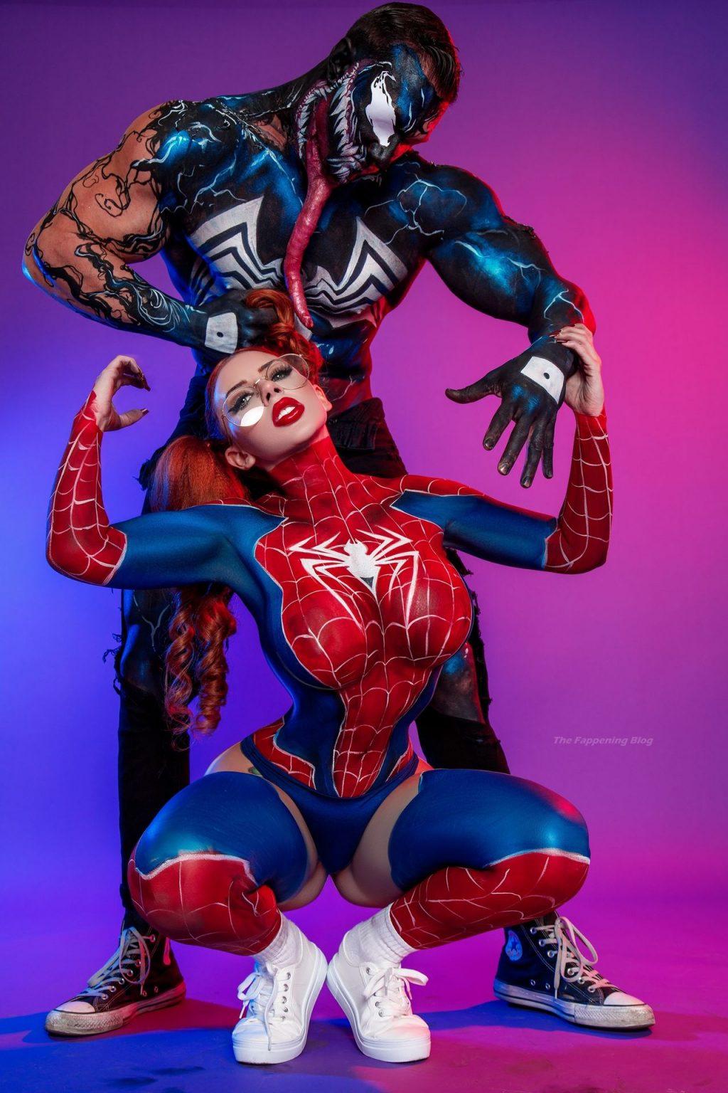 Amanda Nicole Transforms Into Real-life Spider Babe (17 Photos)
