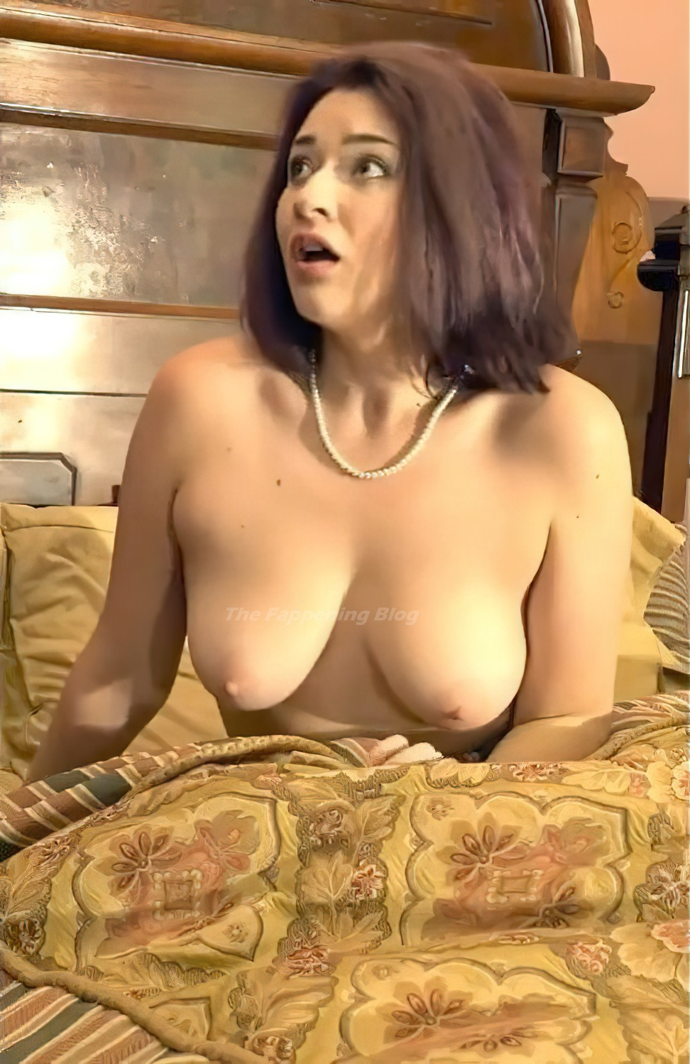 Anastasia August Nude Full Frontal – Chills Down Your Spine (9 Pics + Video)